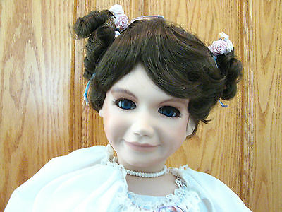 Vtg RARE Blufrogg Gardens Stephanie Doll 24 of 100 in Series Ralph Mary Gonzales