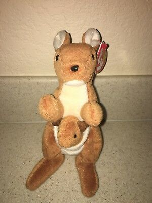 f1418ad427f TY VERY RARE Pouch - Style 4161 Beanie Baby With Errors ...