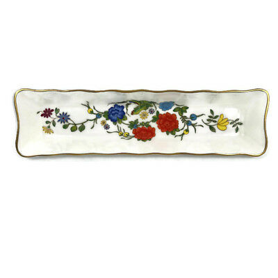 Aynsley Mint Tray Bone China Famille Rose Repro Ch'ing Dynasty 8 1/4""