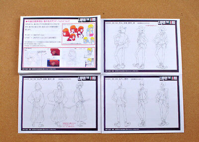Lupin the Third settei sheets