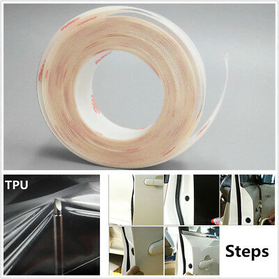 Invisible Car Door Sill Edge Paint Anti-Scratch Protection Film Sticker 15cm×5m