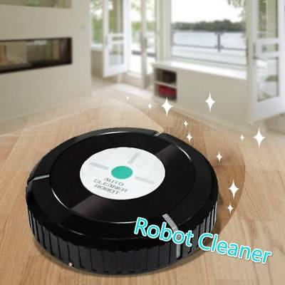 Vacuum Cleaner Mop Auto Cleaning Slim Remove Dust Robotic Floor Sweeper W
