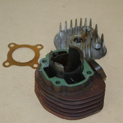 Used Cylinder Head, Barrel and Gasket For a VMoto Milan 50cc Scooter