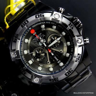 Invicta Star Wars Darth Vader 52mm Limited Edition Black Steel Chrono Watch New