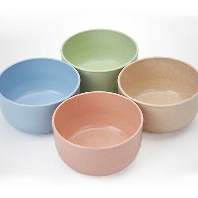 Wheat Straw Stem Bowl Kid Rice Food Container Heat Resistance Tableware Kitchen
