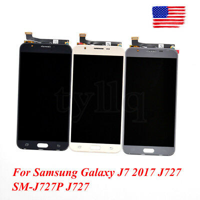 New OEM LCD Touch Screen Digitizer For Samsung Galaxy J7 2017 J727 SM-J727P J727