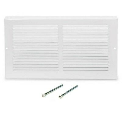 Baseboard Return Air Grille 658 Series HVAC Vent White Steel Hart & Cooley Parts