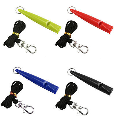 Used Dog Training Whistle In Assorted Colours. Pitch 210.5. Lanyard Included