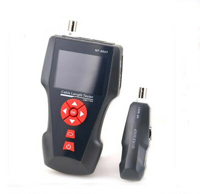 Multi-functional Network Cable Tester LCD CableTester Breakpoint Tester NF-8601A
