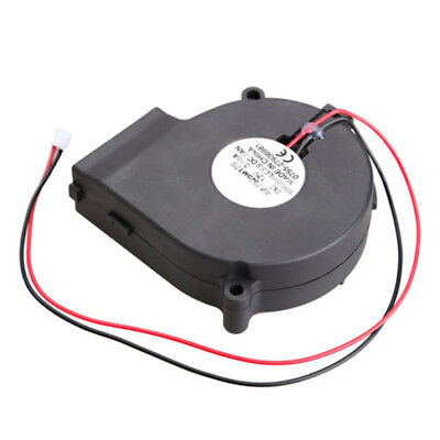 Brushless DC Turbine Cooling Blower  Exhaust Fans 7525S 75x33mm12V US