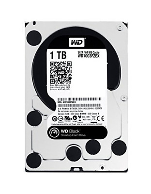 WD 1 TB Performance Hard Drive - Black