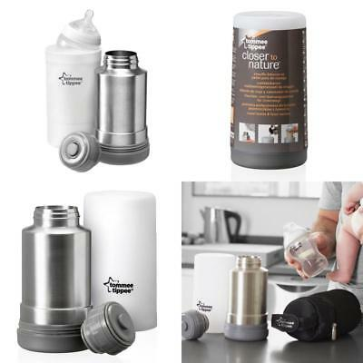 Tommee Tippee Travel Bottle Food Warmer Baby Flask Milk Thermos  + Free P&Amp;P
