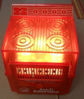 Vintage COLECO SEE IT BAKING Junior Chef Accessories Tools Working