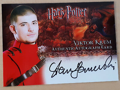 TOP>Harry Potter Artbox card -Stanislaw Ianevski as Viktor Krum<original + Rare