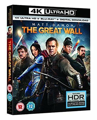 The Great Wall ( digital download) 4K UHD[2017] [Bluray] [DVD]