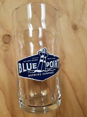 Blue Point Brewing Company Patchogue NY Pint Glass and 3 Coasters All New
