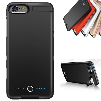 8000mAh Battery Charging Power Bank Charger Case Cover for iPhone 6/6S/7/8 Plus