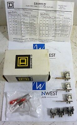 Square D 9999 S & SJ - FUSE CLIP KIT - NEW
