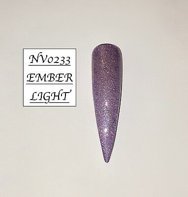 Ember Light Glittered Acrylic Powder 10G Bag See Description