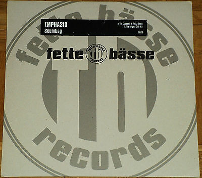 "12"" Vinyl Emphasis - Scumbag (The Gladheads) (Fette Bässe Records)"