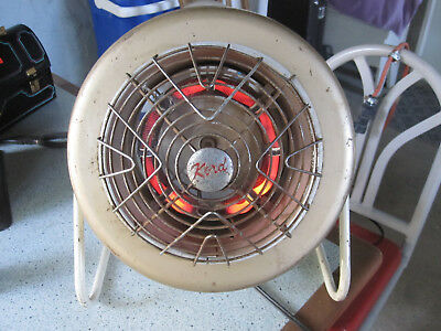 Vintage KORD fan/heater, working!