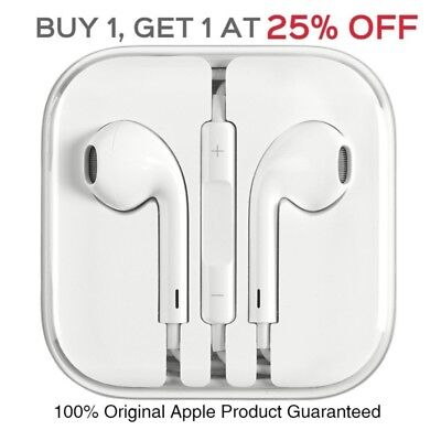 Original OEM Apple EarPods Earphones Earbuds For iPhone 5 5s 6s 6Plus MD827LL/A