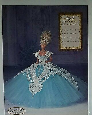 F186 Annie Potter's 1997 The Royal Ballgowns, Miss March ~ Crochet Pattern