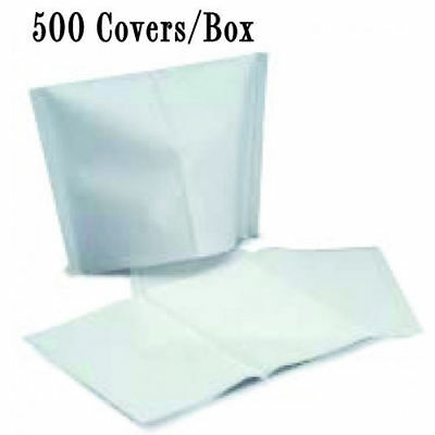 """Osung Headrest Cover White 10""""X 13"""" 500/Box, Pack Of 3 [2073-MD-Q3]"""