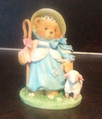 Cherished Teddies 624802 Looking For A Friend Like You, Little Bo Peep Figurine