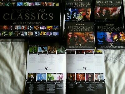 cd box collection 40 cds spectacular classics in large box set