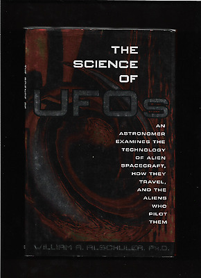 """ The Science Of Ufo's  ""   Hard Cover Book  Great Condition W/sleeve"