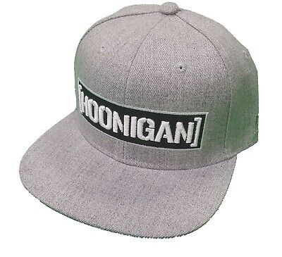 BRAND NEW WITH TAGS Hoonigan CENSOR BAR Snapback Hat GREY LIMITED RELEASE RARE