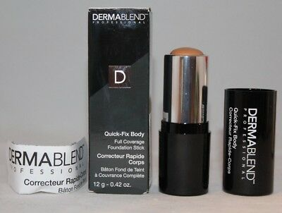 DERMABLEND Quick Fix Body Full Coverage Foundation Stick- SAND -Brand New!!!