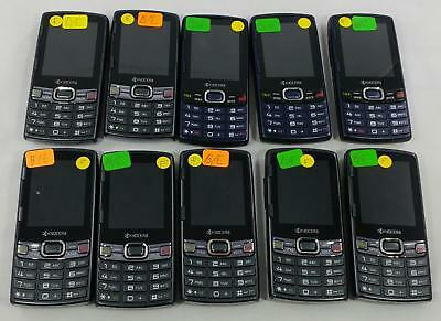 Lot of 10 Kyocera Verve S3150 Sprint QWERTY keyboard Cellphone BULK 245
