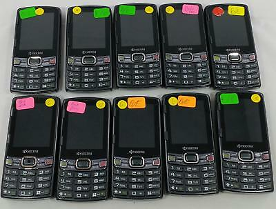 Lot of 10 Kyocera Verve S3150 Sprint QWERTY keyboard Cellphone BULK 246