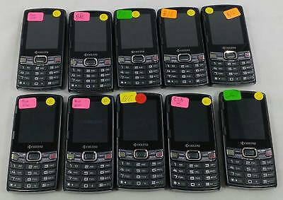 Lot of 10 Kyocera Verve S3150 Sprint QWERTY keyboard Cellphone BULK 248