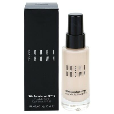 Bobbi Brown Skin Foundation SPF 15 - Size 30ml  VARIOUS SHADES Choose Yours