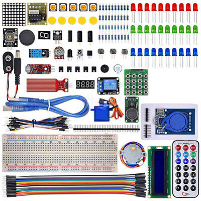 New Upgraded MEGA 2560 R3 Version RFID Starter Kit Learn Suite for Arduino