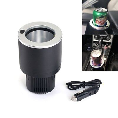 12V 20W Car Drink Cooler Warmer Auto Electric Cup Holder Beverage Cans Commuter