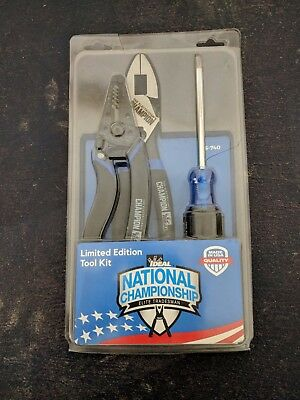 Ideal Industries Electrical Tool Kit ND 8526-1 Linesman/Wire Cutters/Screwdriver
