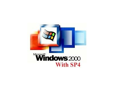 Windows 2000 with SP4 - ISO File or CD