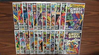 Ghost Rider #49-72 (1973 series) (LOT OF 24)