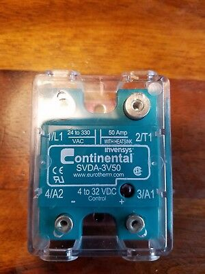 continental svda 3v50 solid state relay control 4 32vdc contacts 24