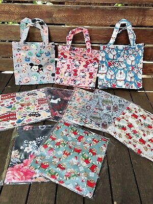 Women Girl Kid Retro Travel Waterproof Carry Tote Lunch Box Shopping Library Bag