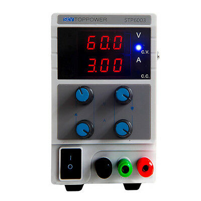 30V 3A Adjustable DC Power Supply Precision Variable Dual Digital Lab Test