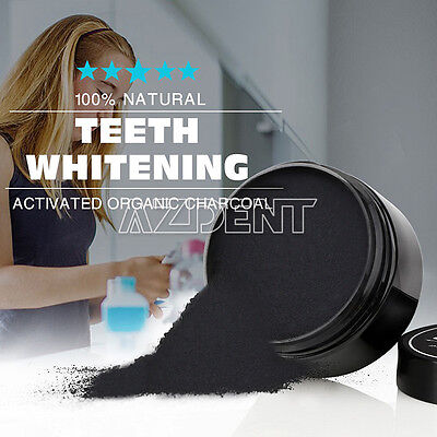 UK Teeth Whitening Powder Natural Activated Organic Charcoal Toothpaste Powder