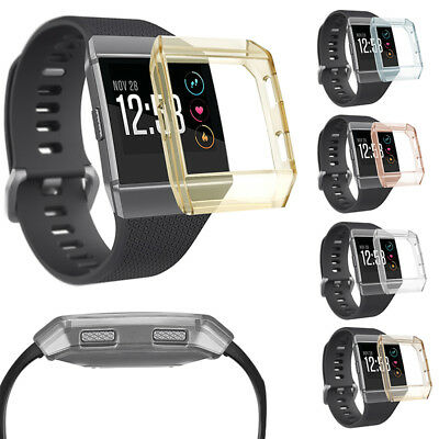 Silicone Gel TPU Case Cover Screen Guard For Fitbit Ionic Watch Smart Watch UK