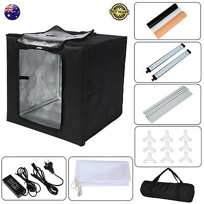 16''/40cm LED Light Square Photo Studio Softbox Tent for Camera& Phone Shooting