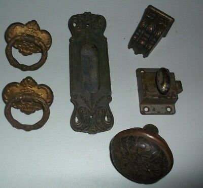 Antique Vintage Misc. Door Hardware Lot