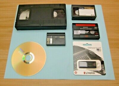 VIDEOS TAPE TRANSFER TO DVD. Hi 8,8 mm Mini DV HD mini DV, VHS, VHS C & Betamax